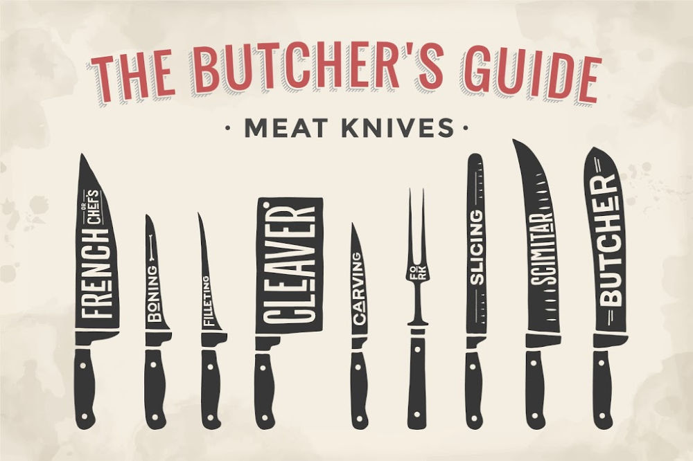 A Butcher's Guide To Meat Knives